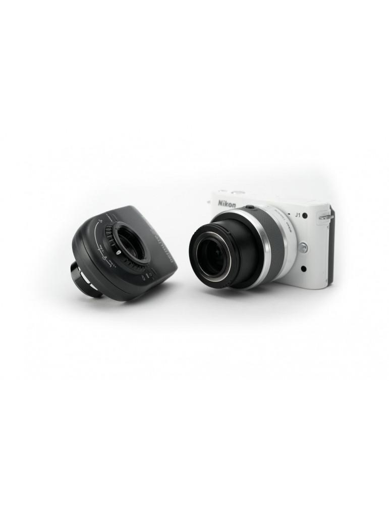DermLite MagnetiConnect™ para accesorios y adaptadores Nikon 1 Dermatoscope