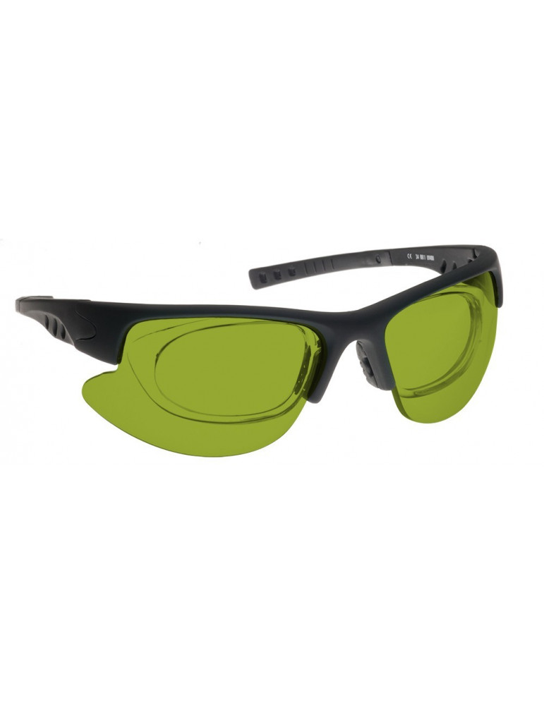Combined Nd:Yag and Diode Laser Safety Glasses
