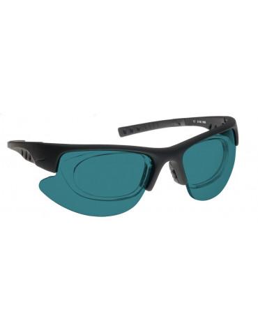 Gafas de alineación láser KTP ( verde ) y gafas de sol rojas para alineación de láser noIR