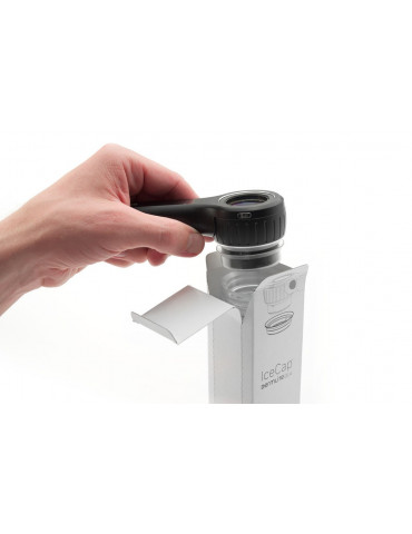 Cubiertas monouso de tapa de hielo para Dermlite DL4Accesorios y adaptadores de dermatoscopio 3Gen ICDL4-25