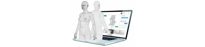 Scanner 3D per il corpo