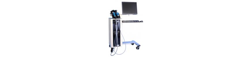 Verwendete Videodermatoskope